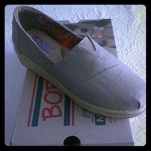 Shoes - Sckechers ladies Bob wedge canvas shoes